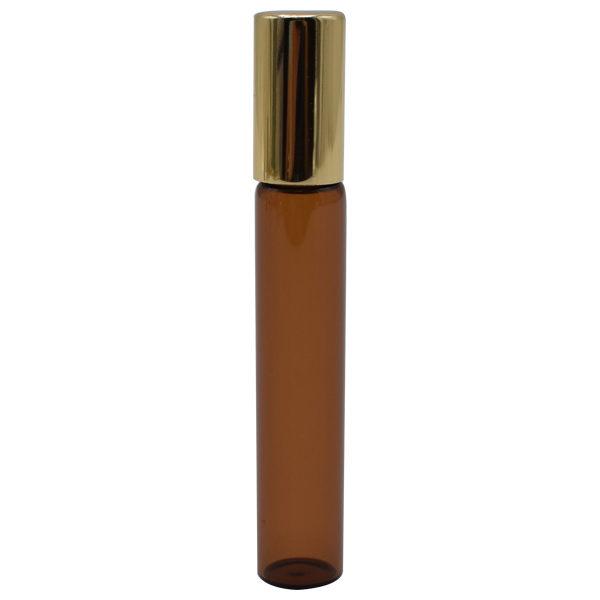 Envase Vidrio Roll on Ámbar De 7 ml (10 Unidades)