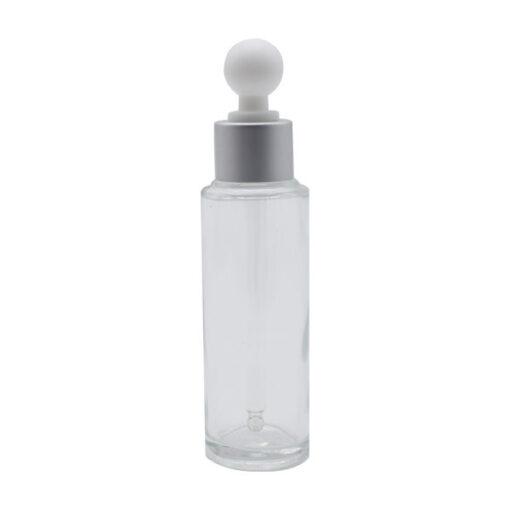 Envase Vidrio Gotero 50 ml Transparente (10 Unidades)