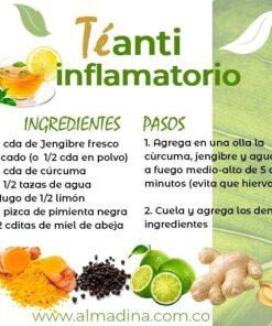 Te de Curcuma Antiinflamatorio