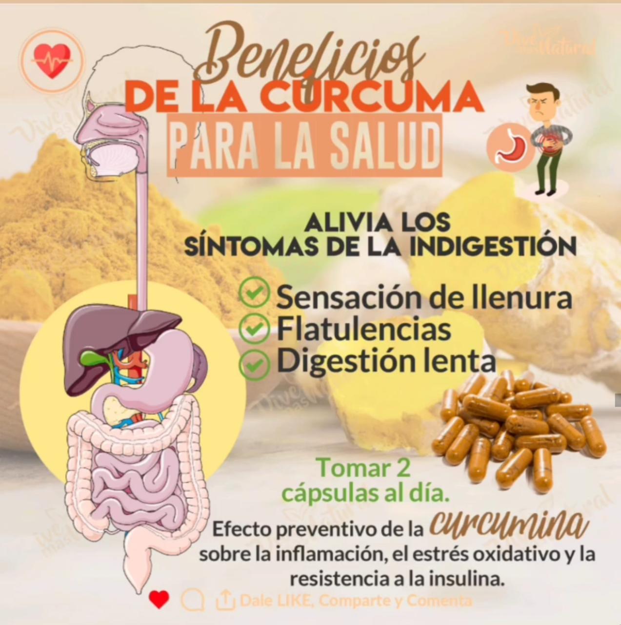 Beneficios De La Cúrcuma para La Salud
