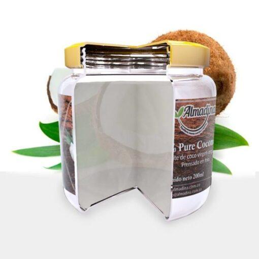 Aceite de coco puro y 100% Natural