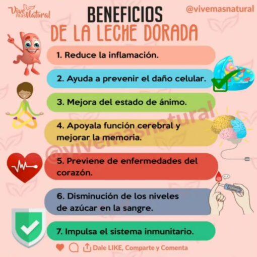 Beneficios Leche Dorada