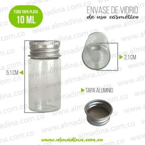 Tubo en Vidrio 10ml