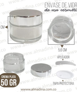 Crema 50 Gramos Plata