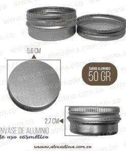 Envase Aluminio 50 Gramos