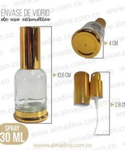 Envase de Vidrio Spray 30ml