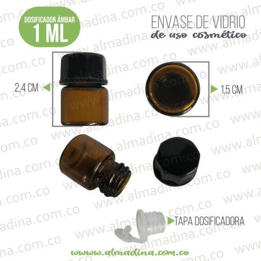 Dosificador Vidrio 1ml microdosis