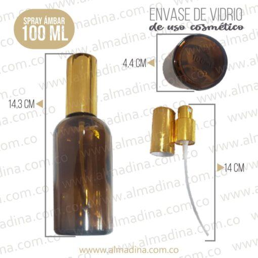 Envase de Vidrio Spray 100ml