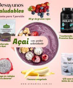 ACAI BOWL con proteína